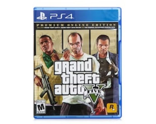 Oferta de Grand Theft Auto V para PS4 por $799