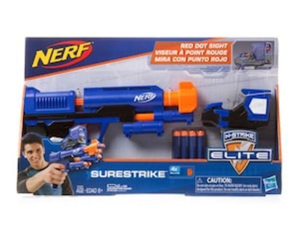 Oferta de Pistola Lanzadardos Nerf Hasbro por $339