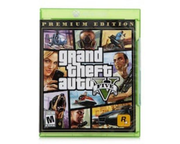 Oferta de Grand Theft Auto V para Xbox One por $799