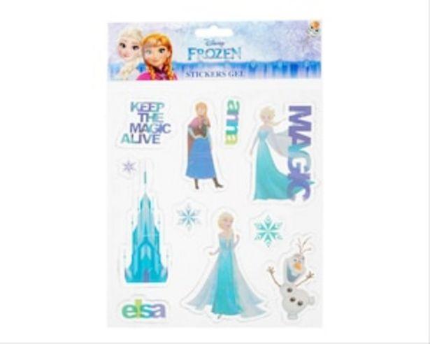 Oferta de Stickers de Gel Frozen Dipack por $35