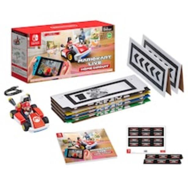 Oferta de Set para Consola Nintendo Switch Home Circuit Mario Kart Live Portátil  1 a 4 Jugadores por $5259