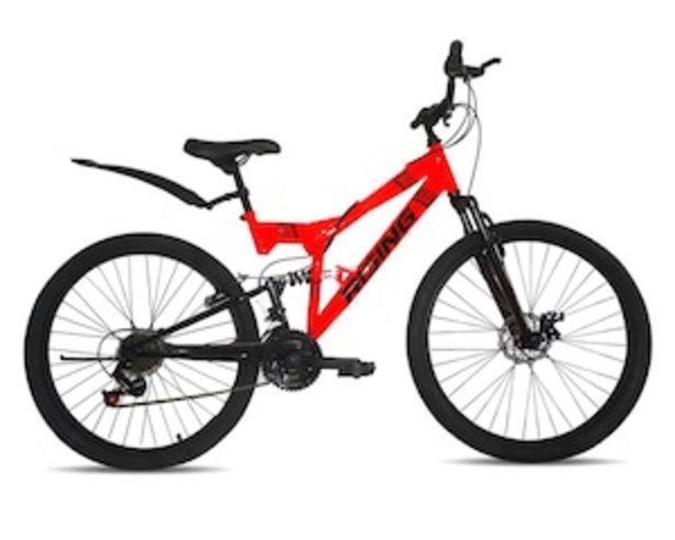 """Oferta de Bicicleta de Montaña Rising Nemesis 26"""" color Rojo por $3999"""