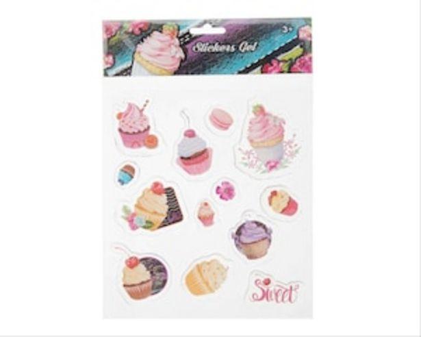 Oferta de Set de Stickers Cupcakes por $39
