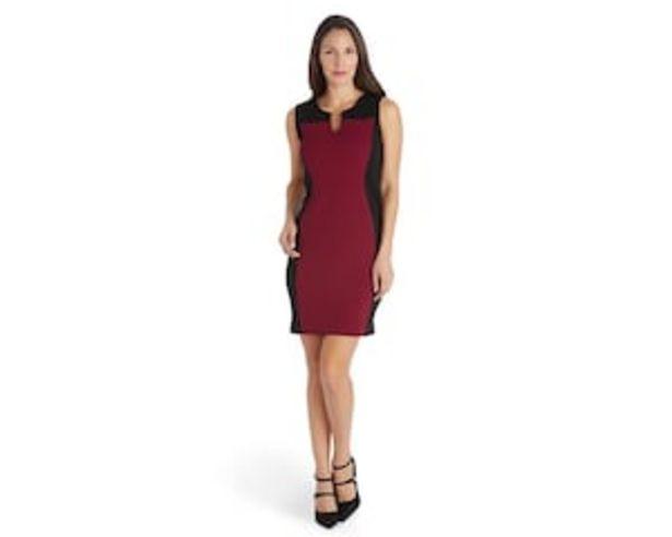 Oferta de Vestido Formal Rojo marca Sahara para Mujer por $179