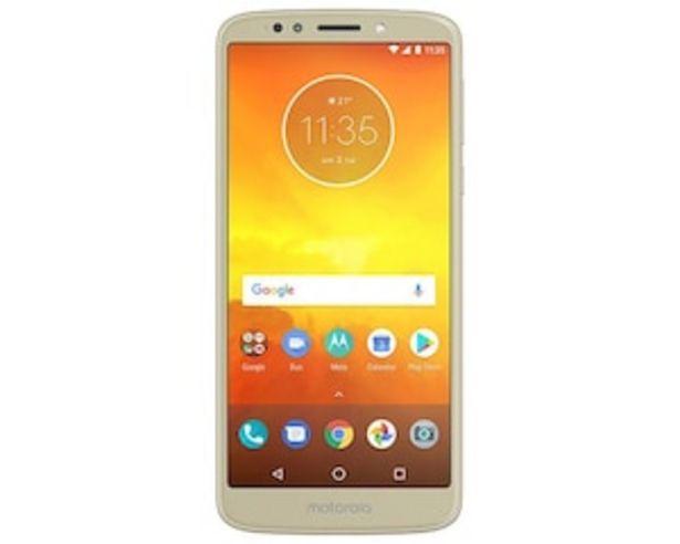 Oferta de Telcel Motorola Moto E5 16 GB Dorado por $2999