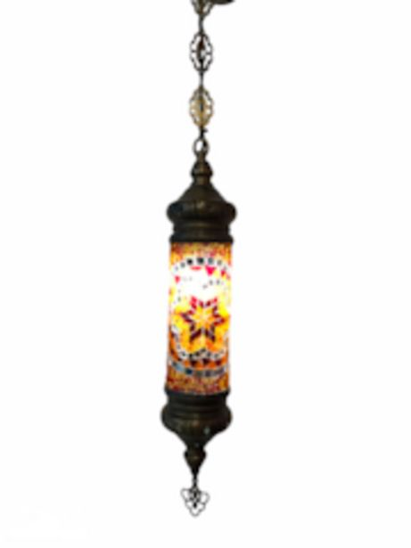 Oferta de Lámpara Turca Cilíndrica Mosaico de Pared Techo Multicolor por $1800
