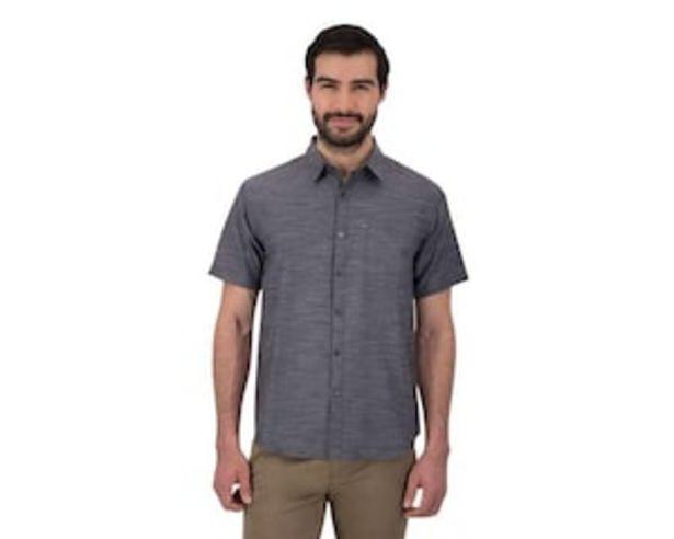 Oferta de Camisa Manga Corta color Gris marca Wall Street para Hombre por $279