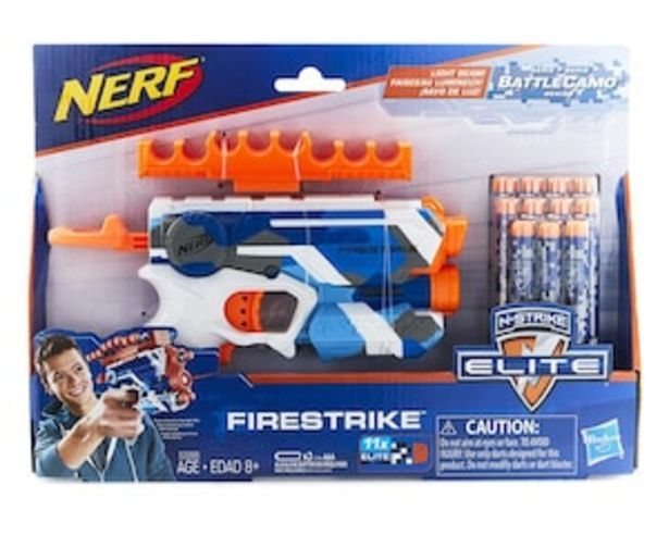Oferta de Pistola Lanzadardos Nerf Firestrike por $379