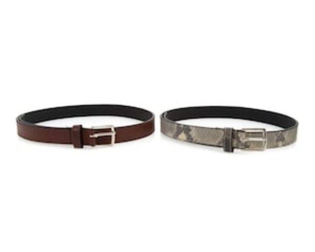 Oferta de Set de Cinturones marca Thinner para Mujer por $59