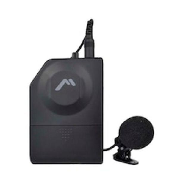 Oferta de Micrófono de Solapa Mitzu 12-1909 Inalámbrico VHF por $703