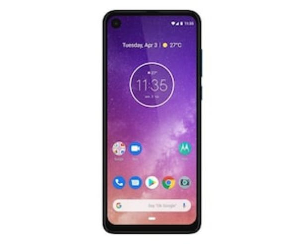 Oferta de Movistar Motorola One Vision 128 GB Azul por $6999