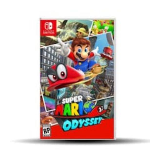 Oferta de Super Mario Odyssey para Nintendo Switch por $1499