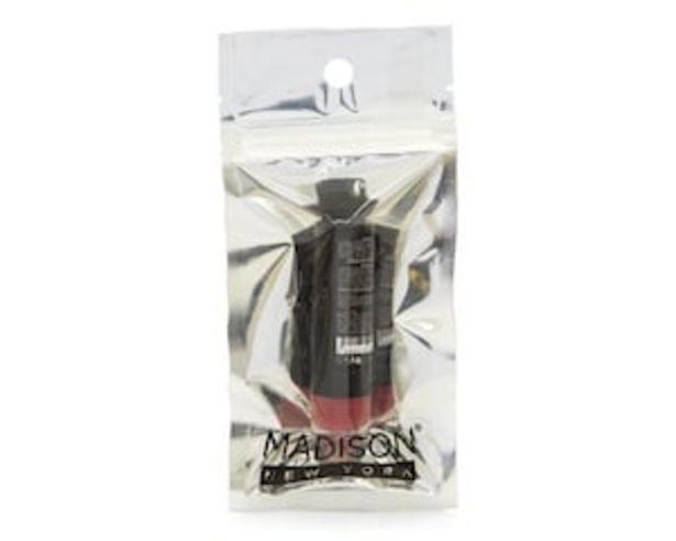 Oferta de Labial Rojo Matte Madison New York por $36