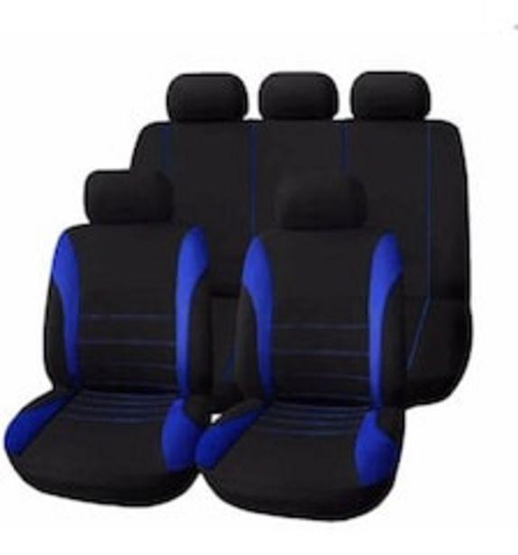Oferta de Cubre Asientos Genérico para Automóvil color Azul por $687