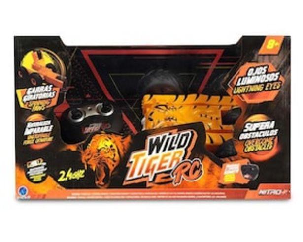 Oferta de Vehículo de Radio Control Wild Tiger por $699