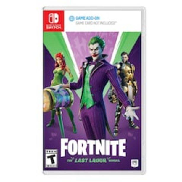 Oferta de Fortnite DC: The Las Laugh Bundle para Nintendo Switch por $799