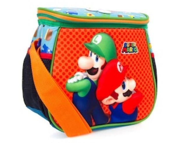 Oferta de Lonchera Estampada Mario Bros por $284