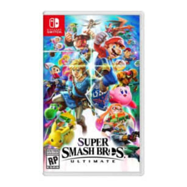 Oferta de Super Smash Bros Nintendo Switch por $1226.58