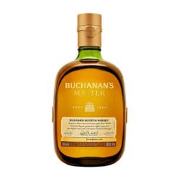 Oferta de Whisky Buchanan's Master 750 ml por $741.68