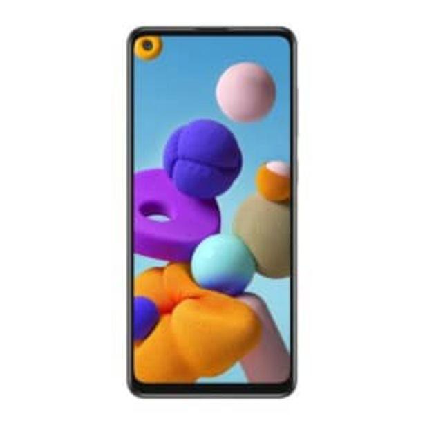 Oferta de Smartphone Samsung A21S Silver por $5540.39