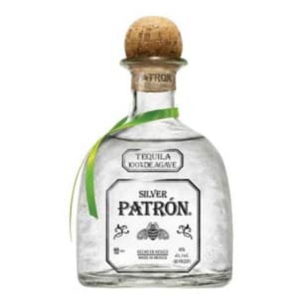 Oferta de Tequila Patrón Silver 750 ml por $562.65