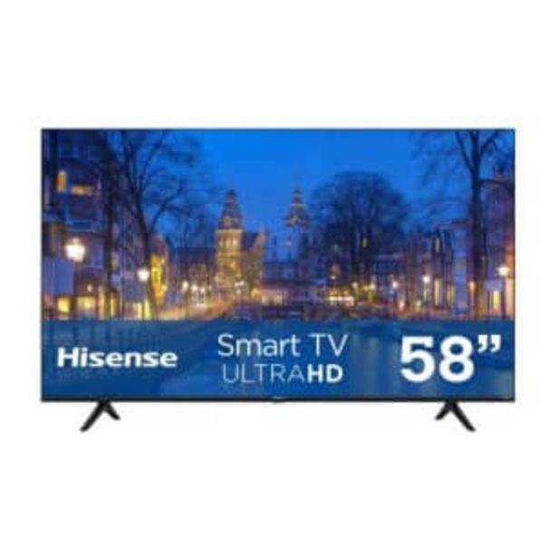 Oferta de Pantalla Hisense 58 Pulgadas UHD 4K Roku TV por $12274.98