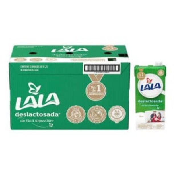 Oferta de Leche Lala Deslactosada 12 pzas de 1 l c/u por $240.91