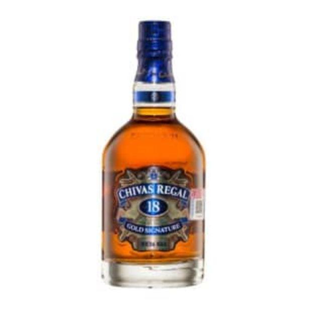 Oferta de Whisky Chivas Regal 18 de 750 ml por $1175.43