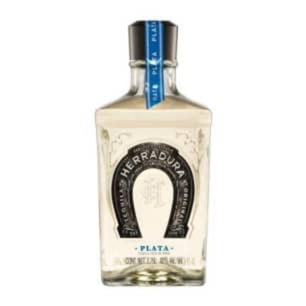 Oferta de Tequila Herradura Plata 1.75 l por $786.66
