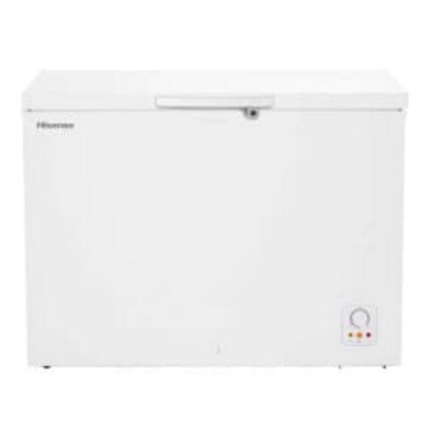 Oferta de Congelador Hisense 9 Pies Blanco por $6392.91