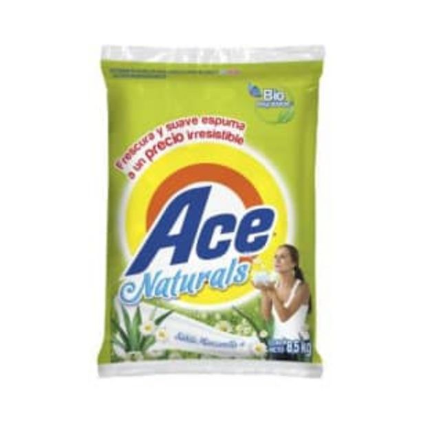 Oferta de Detergente en Polvo Ace Naturals 8.5 kg por $183.12