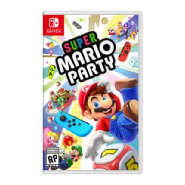Oferta de Super Mario Party Nintendo Switch por $1328.88