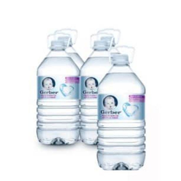 Oferta de Agua Gerber con 4 pzas de 4 l por $73.66