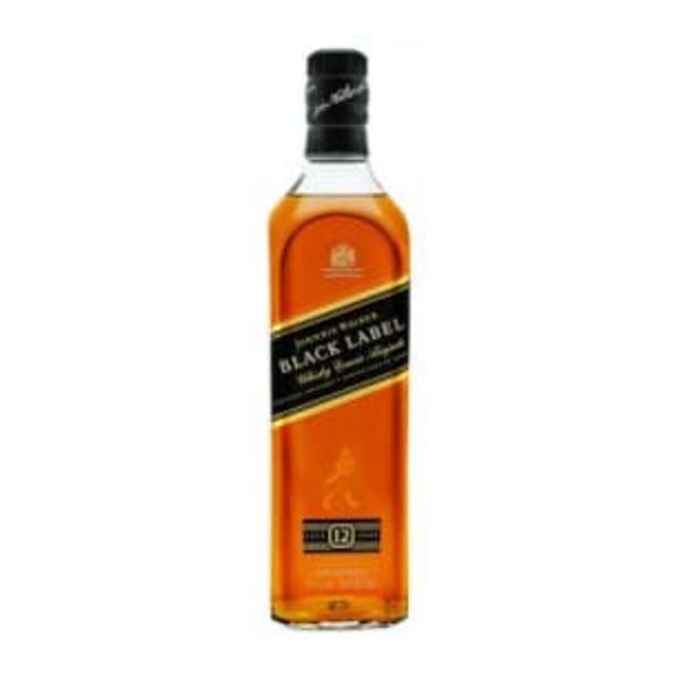 Oferta de Whisky Johnnie Walker Black Label 12 Años 750 ml por $623.01