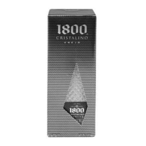 Oferta de Tequila 1800 Añejo Cristalino 700 ml por $606.63