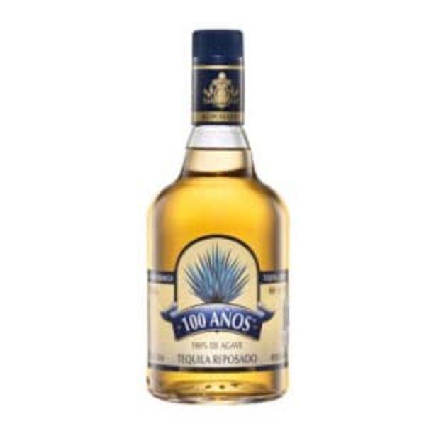 Oferta de Tequila 100 Años Reposado Azul 700 ml por $157.53
