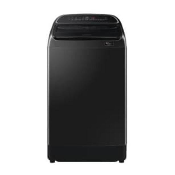 Oferta de Lavadora Samsung Carga Superior 19 kg Negro por $8524.15