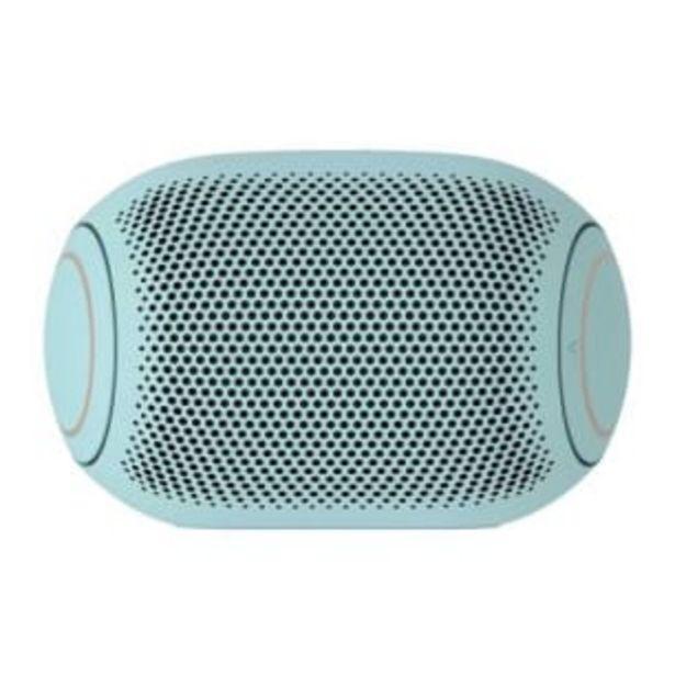 Oferta de Bocina Inalámbrica LG XBOOM Go Jellybean Ice Mint por $1021.98