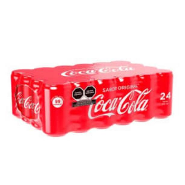 Oferta de Refresco Coca Cola Mini 24 Piezas de 235 ml por $220.96