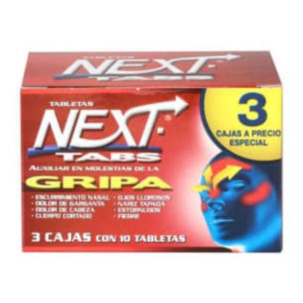 Oferta de Antigripal Next 30 Tabletas por $70.59