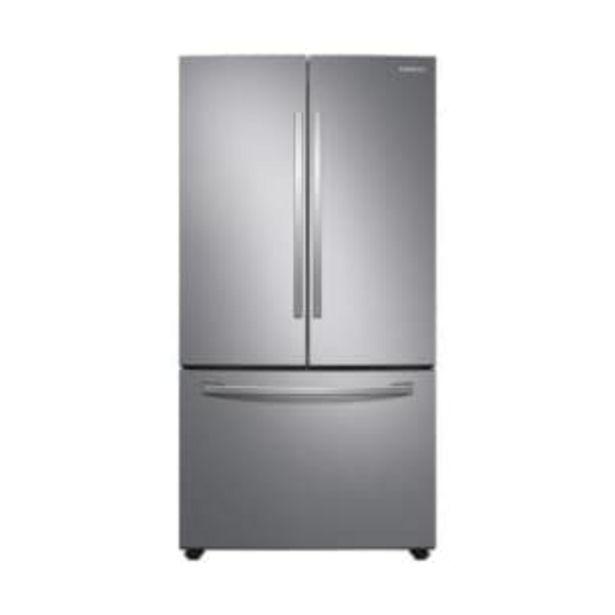 Oferta de Refrigerador Samsung French Door 28 Pies Cúbicos Silver por $25778.56