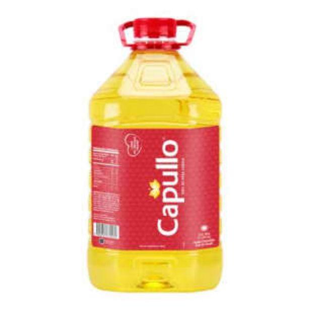 Oferta de Aceite de Canola Capullo 5 l por $168.79