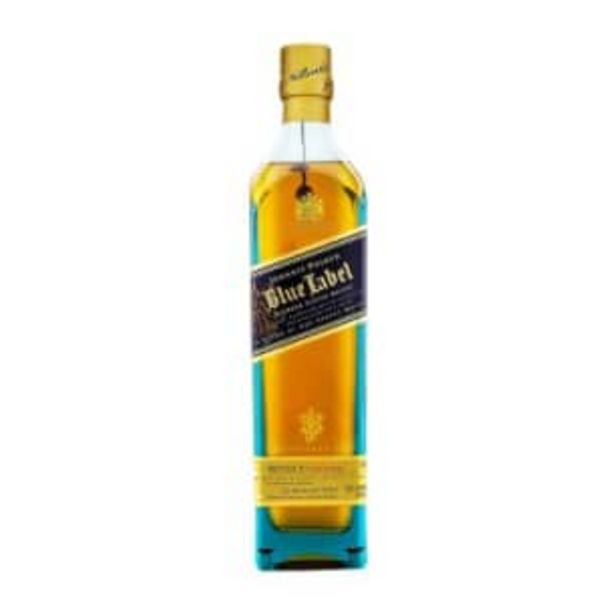 Oferta de Whisky Johnnie Walker Blue Label 750 ml por $4434.71