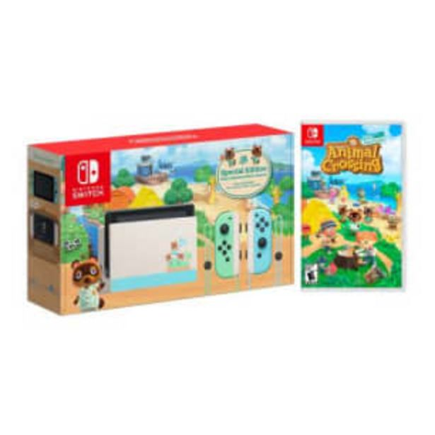 Oferta de Consola Nintendo Switch 1.1 + Animal Crossing New Horizon por $9205.96