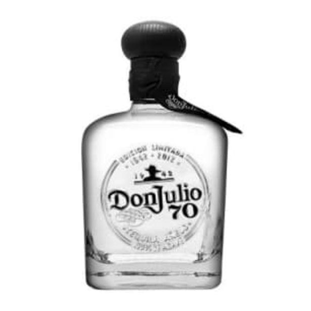 Oferta de Tequila Don Julio 70 Añejo Cristalino 700 ml por $776.45
