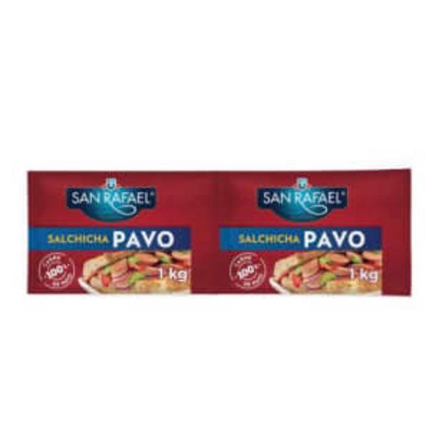 Oferta de Salchicha de Pavo San Rafael 2 Kg por $142.2