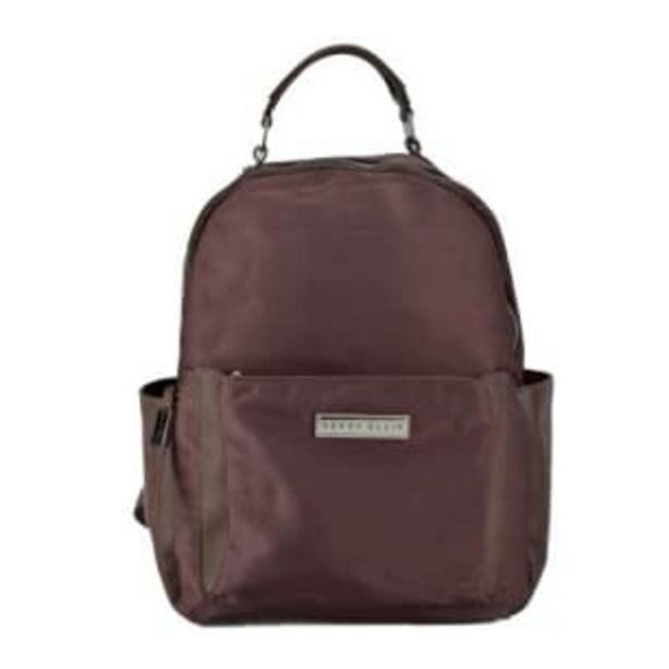 Oferta de Bolsa Backpack Perry Ellis Café por $357.03