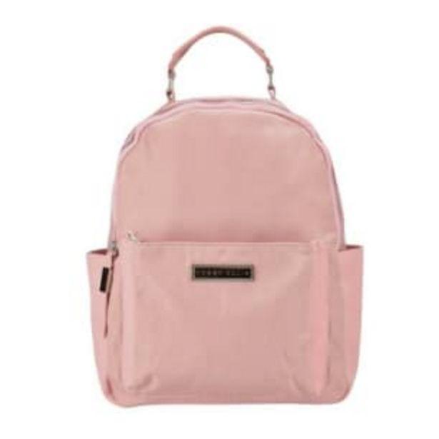 Oferta de Bolsa Backpack Perry Ellis Rosa por $357.03