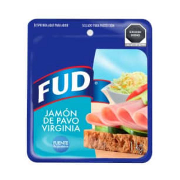 Oferta de Jamón de Pavo FUD Virginia 1 kg por $131.97