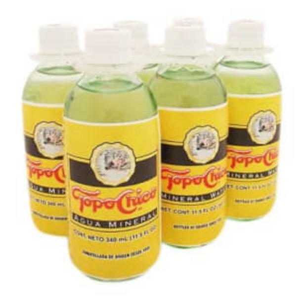 Oferta de Agua Mineral Topo Chico 24 pzas 340 ml c/u por $257.79